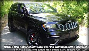chrome jeep cherokee 2014 jeep grand cherokee srt video walkaround tour unique