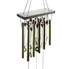 Hanging Home Decor Antique Amazing Deep Resonant 10 Tube Wind Chime Chapel Bells Wind