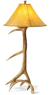 Antler Table Lamp Elk Antler Table Lamp Wild Wings