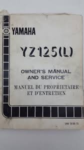1999 yamaha yz250 owners manual vehicle parts u0026 accessories