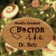 personalized doctor ornaments giftsforyounow