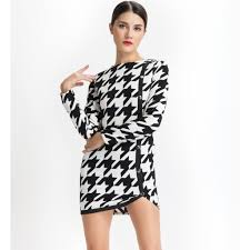 houndstooth dress houndstooth dress and fifth