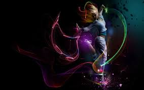 dance music colored black wallpaper hd desktop mobile 4526729