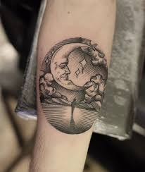 60 simple moon tattoos ideas with meanings
