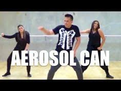 Hit The Floor Aerosol Can Dance - marion cherriere zumba r major lazer watch out for this dance