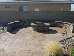 custom concrete bbq patio u2013 apple valley ca conco construction