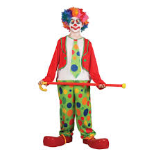 boys coco the clown funny circus comedy halloween party fancy