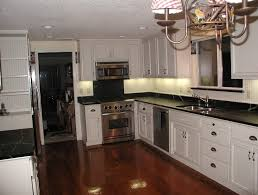 White Cabinets Dark Grey Countertops Kitchen Backsplash For Black Countertop Interior Design