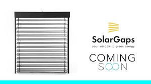 solargaps smart solar blinds youtube