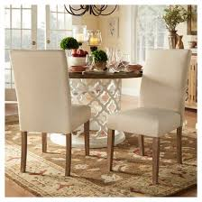 Parsons Dining Chair Walton Park Parsons Dining Chair Set Of 2 Oatmeal Inspire Q