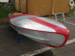 1947 vintage original feather craft aluminum 12 u0027 runabout outboard