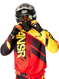 answer motocross helmets answer red black yellow 2016 elite mx jersey answer