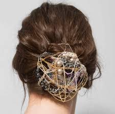 handmade hair bun holder by bee notonthehighstreet