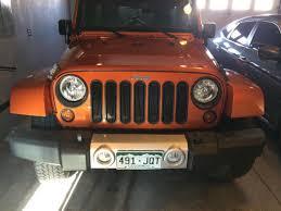 jeep angry headlights rugged ridge wrangler black turn signal lamp trim 12419 26 07 17