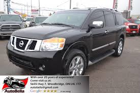 lifted nissan armada used 2011 nissan armada for sale woodbridge on