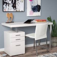 desk with file drawer writing desk with file cabinet wayfair