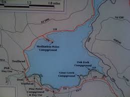 Crater Lake Oregon Map by Outside The Rat Race Little Crater Lake