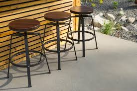 adjustable outdoor bar stools patio bar outdoor counter height stools bench table furniture pub
