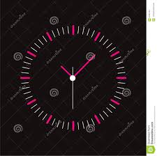 creative clock face design stock vector image 57690704