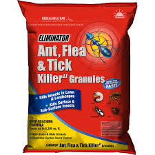 eliminator ant flea and tick killer ii granules yard insect