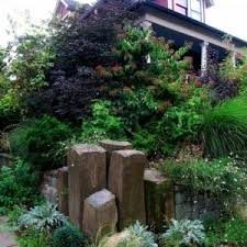 Backyard Corner Landscaping Ideas Waterfall And Belvedere In Corner Landscape Ideas Homes Network