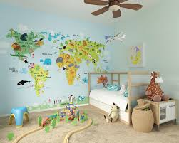 childrens wallpaper murals by ohpopsi alice in wonderland