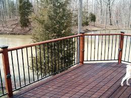 metal deck railing design u2014 jbeedesigns outdoor best metal deck