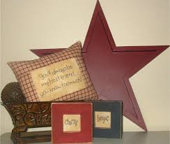 metal star home decor decorations star home decor usa llc rustic country wood sign