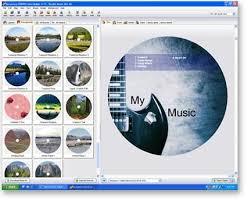cd label designer acoustica cd dvd label maker screenshots