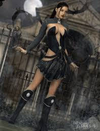 elf witch 3d models and 3d software by daz 3d