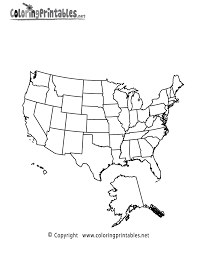 100 map of united states coloring page free coloring pages