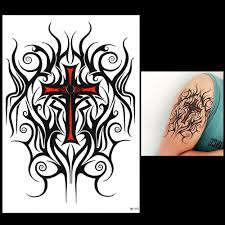 cros tattoo compare prices on black cross tattoo designs online shopping buy