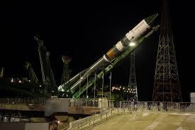 photos soyuz rocket rolls to pad with first progress ms