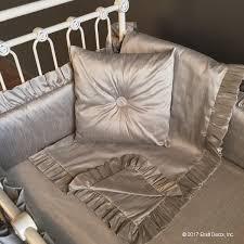 Silk Crib Bedding Set Covington Crib Bedding Set