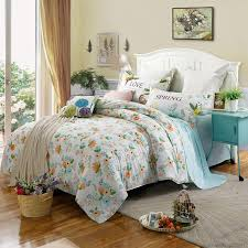 Bed Covers Set Floral Duvet Covers Set Of 4 Pieces Size Distinct Interior