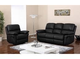 canapé cuir relax 3 places canapé ou fauteuil relax en cuir 3 coloris milagro