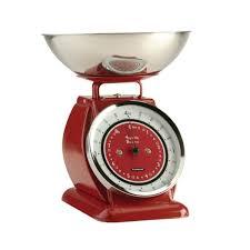 balance cuisine balance de cuisine mécanique 4 kg tout inox typhoon