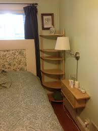 wall mounted nightstands and corner shelves joshua marr