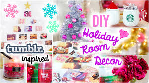 diy holiday room decor easy u0026 simple ideas youtube