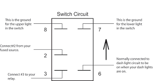 5 pin lighted rocker switch wiring diagram wiring diagram and