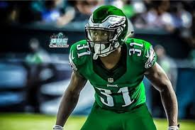 one eagles player wants the team to wear kelly green color rush