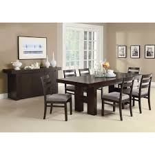 Dining Room Furniture Server Modern Dining Room Sideboard Server Table Cabinet In Cappuccino