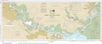 Map Of South Louisiana by Noaa Nautical Charts In Png Format