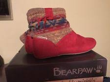 womens paw boots size 12 bearpaw boots for ebay