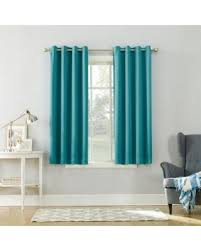 Grommet Top Blackout Curtains Amazing Shopping Savings Sun Zero Saxon Grommet Top Blackout