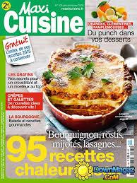 maxi cuisine janvier février 2016 no 104 pdf