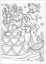 party ariel coloring free printable coloring pages