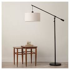 adjustable drop pendant floor lamp brown includes cfl by