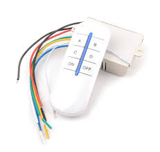 remote control on off light switch 4 way channel efficient wireless practical on off light switch