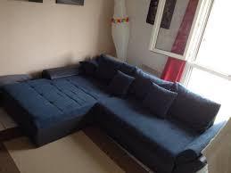 canape angle bleu achetez canapé d angle quasi neuf annonce vente à montpellier 34